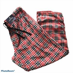 Stafford extremely soft plaid pajama sleep pants